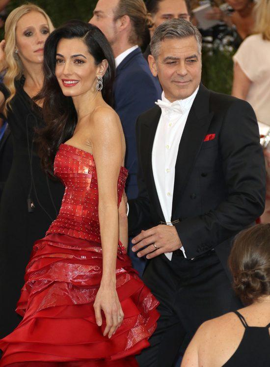 Dobre wieści na temat małżeństwa Clooneya i jego żony Amal