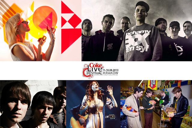 Laureaci Coke Live Music Festival 2013