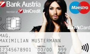 Conchita Wurst została twarzą banku
