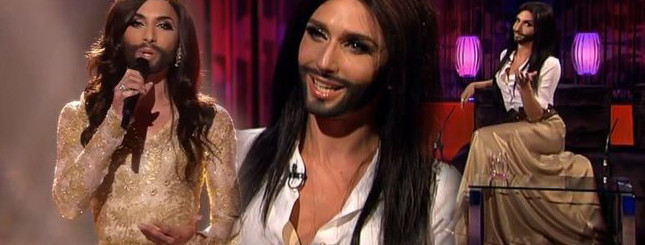 Jak Conchita Wurst wygląda w domowych pieleszach? [VIDEO]