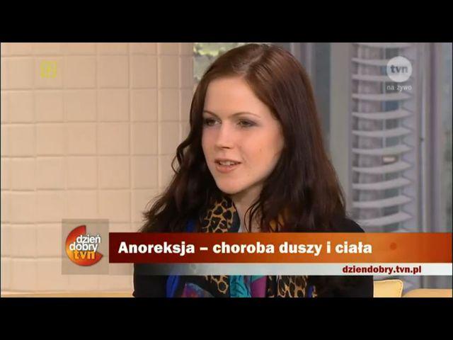 Córka Jacka Kaczmarskiego o walce z anoreksją
