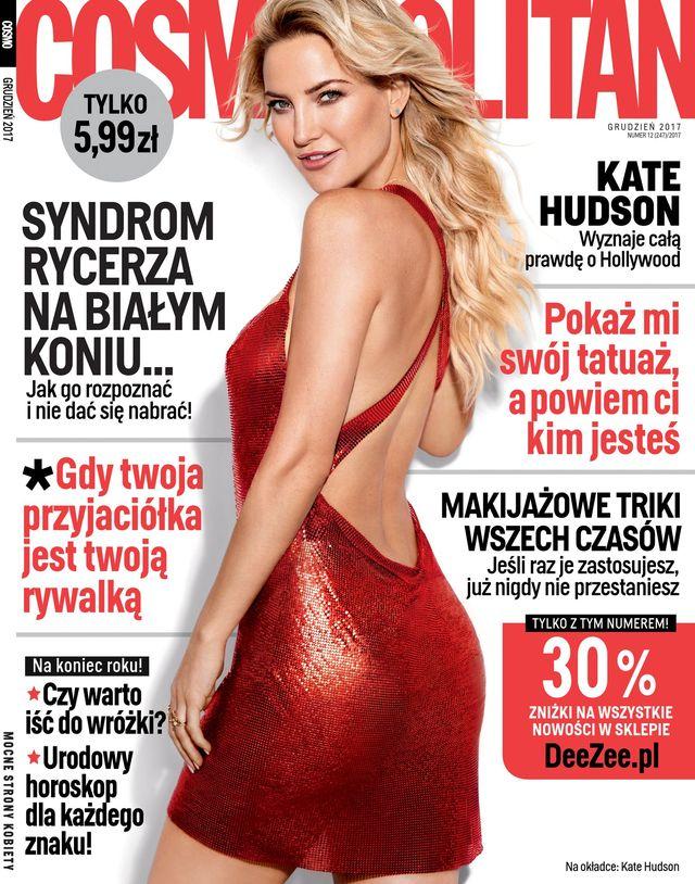 Kate Hudson w nowym Cosmo zdradza całą prawdę o Hollywood