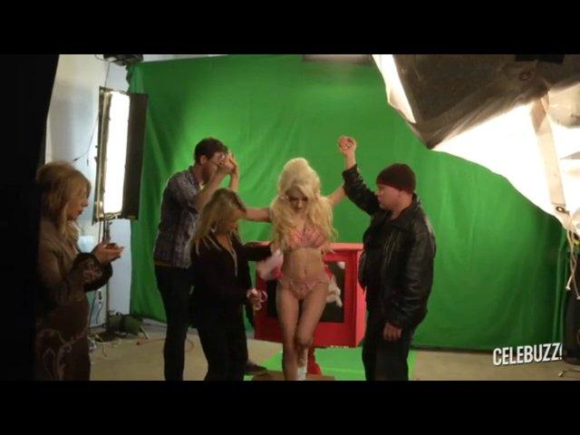 Courtney Stodden kręci swój pierwszy klip (FOTO)
