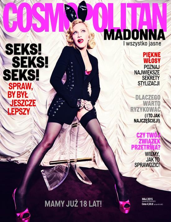 Madonna w Cosmopolitan: Jestem dyskryminowana!