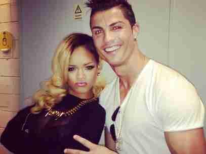 Dzięki Rihannie powróciły plotki, że Ronaldo jest gejem