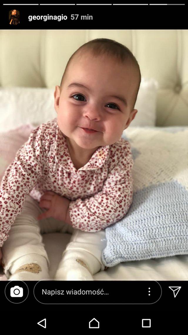 Georgina pokazała zdjęcie UŚMIECHNIĘTEJ córeczki i dzieci Cristiano (Instagram)
