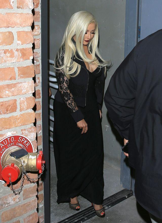 Christina Aguilera znów przytyła? (ZDJĘCIA)