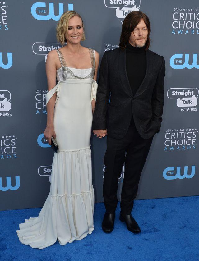 Rozbawiona Jolie i fikającą nóżka Heidi Klum - gwiazdy na Critics' Choice Awards