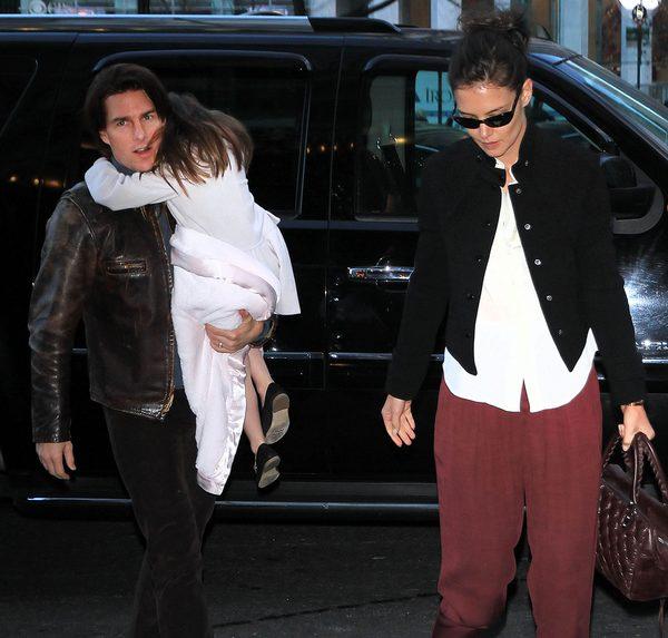 Między Katie Holmes a Tomem Cruisem nigdy nie było tak źle