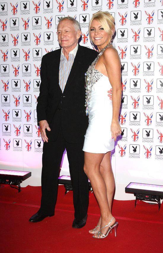 Crystal Harris, żona Hugh Hefnera, jest ciężko chora