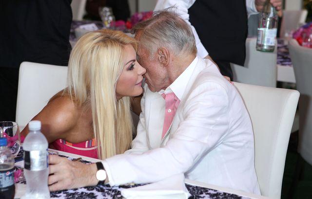 Crystal Harris, wdowa po Hugh Hefnerze, dostanie fortunę po mężu?