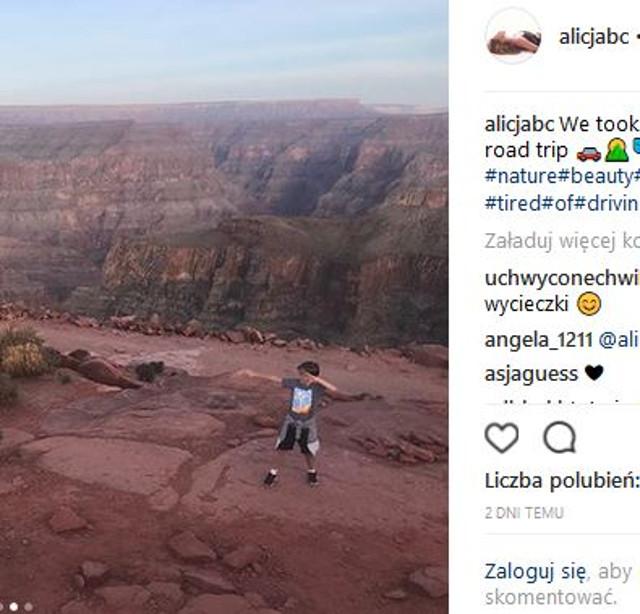 Alicja Bachleda-Curuś pokazała SYNA. Ale już duży! (Instagram)