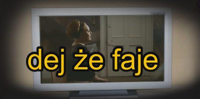 Na poprawę humoru – polskie teksty w zagranicznych kawałkach