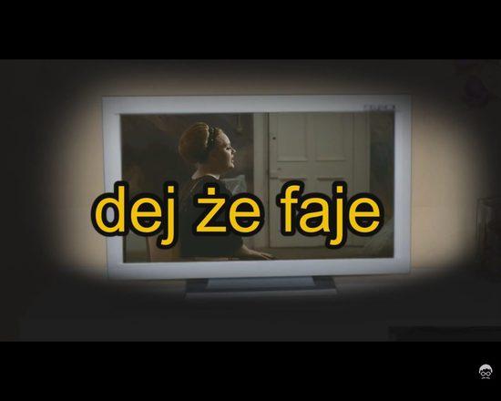 Na poprawę humoru - polskie teksty w zagranicznych kawałkach