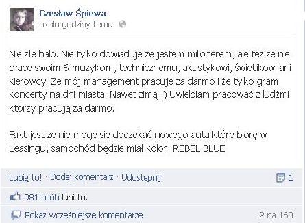 Czesław Mozil: Nie mogę się doczekać nowego auta