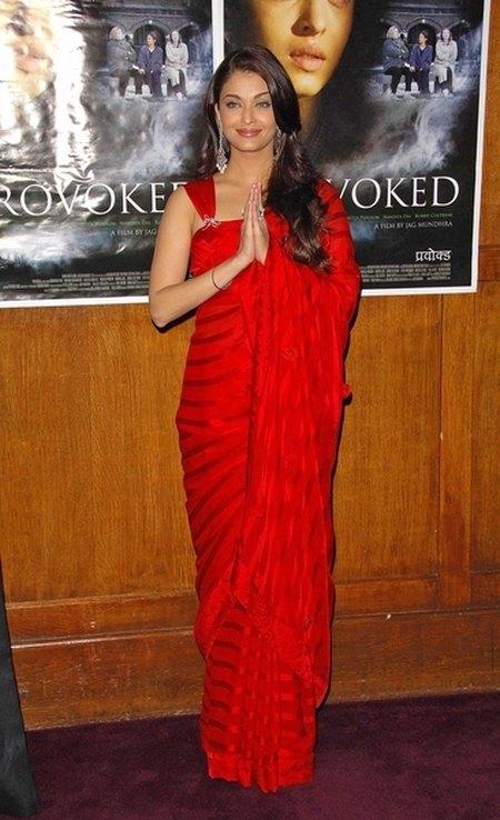 Aishwarya Rai na czerwonych dywanach