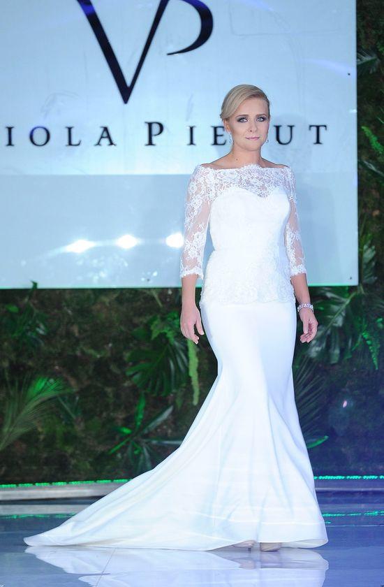Aneta Zając, suknia ślubna