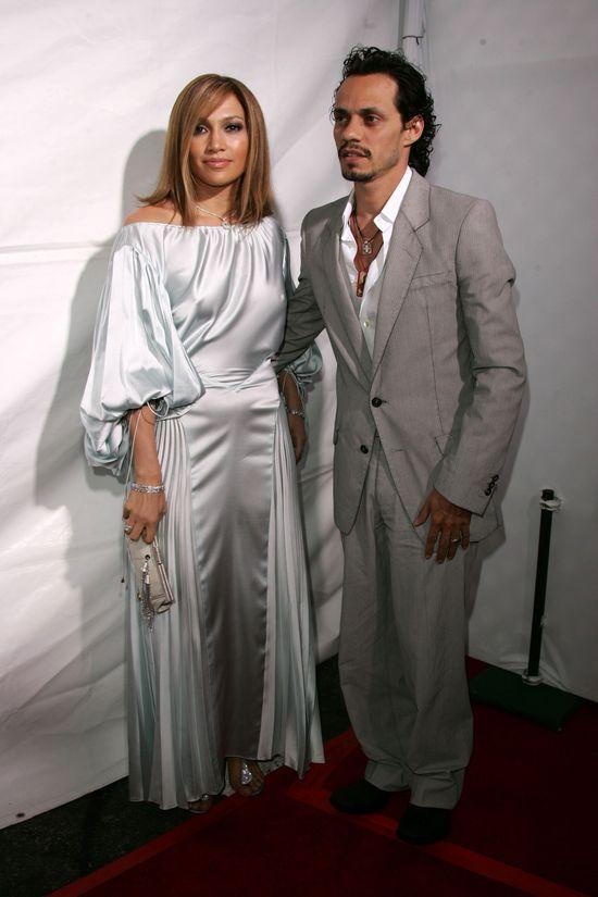 Jennifer Lopez i Marc Anthony w czasach, gdy byli razem