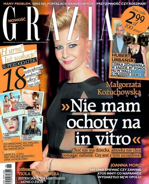 Kożuchowska o Grazii: Kompletny brak szacunku!