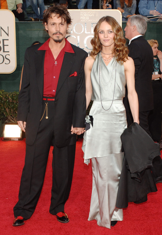 Johnny Depp z Vanessą Paradis
