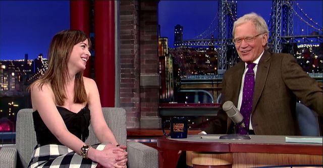 Dakota Johnson nieźle GO wkręciła! (VIDEO)