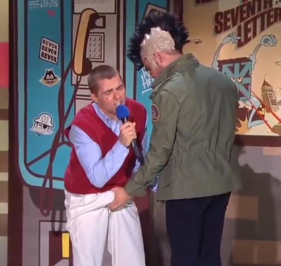 Zac Efron chwycił Dave'a Franco za krocze podczas gali MTV