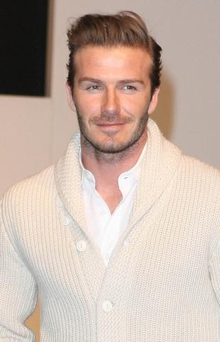 David Beckham zawstydził się swoich zdjęć w majtkach
