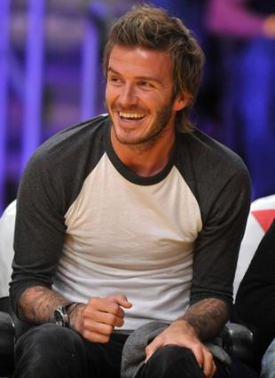 Synowie Beckhama ćwiczą sztuki walki…