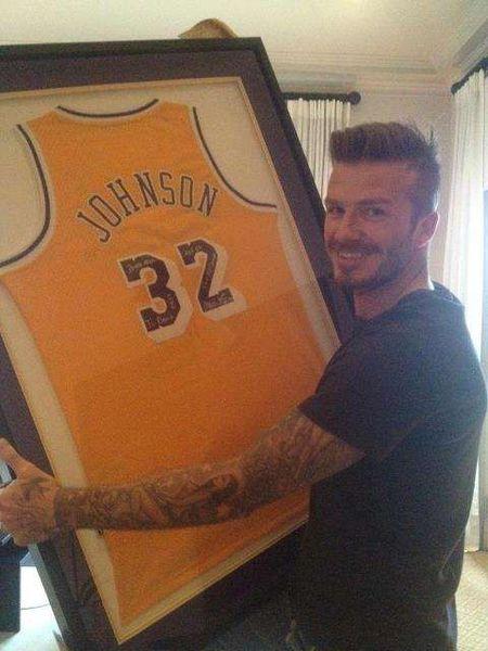 David Beckham pokazał stos prezentów urodzinowych