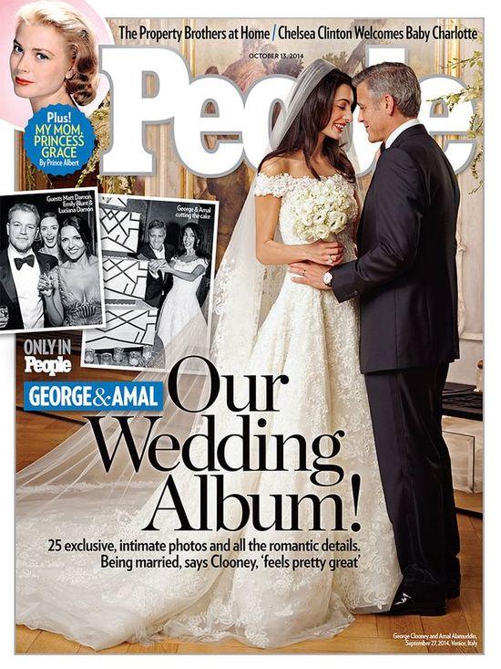 Ostatnia kreacja, którą stworzył Oscar to suknia ślubna Amal Mudżahedin, żony Georga Clooneya, której wartość właśnie się potroiła.