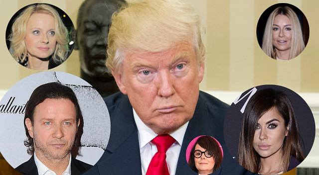 Dlaczego polscy celebryci krytykują Trumpa? Tylko jedna gwiazda sięwyłamała!