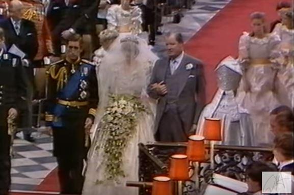 Wyszły na JAW szczegóły na temat drugiej sukni ślubnej księżnej Diany!