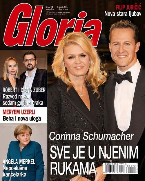 Michael Schumacher na okładkach