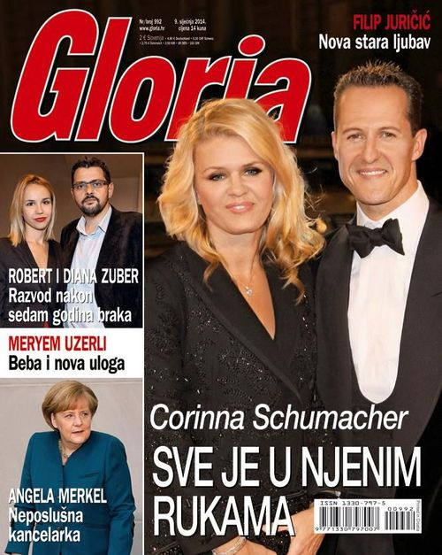 Michael Schumacher z żoną Corinną Schumacher