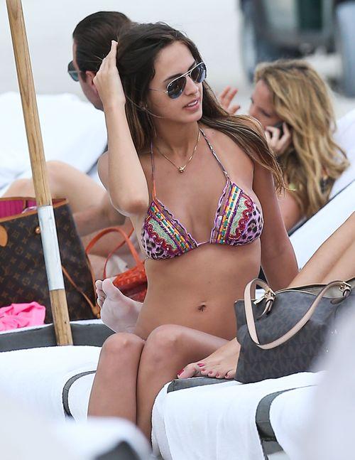 Shannon De Lima spędziła święta na plaży (FOTO)