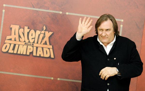 Gerard Depardieu opuścił Francję