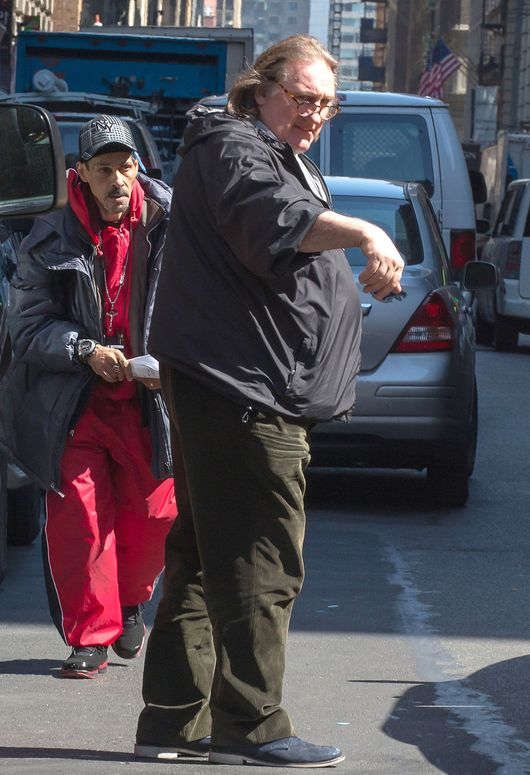 Gerard Depardieu coraz bardziej przypomina Obelixa (FOTO)