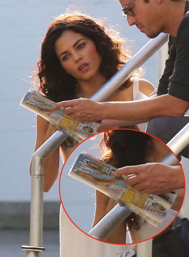 A podobno gwiazdy nie czytają tabloidów! (FOTO)