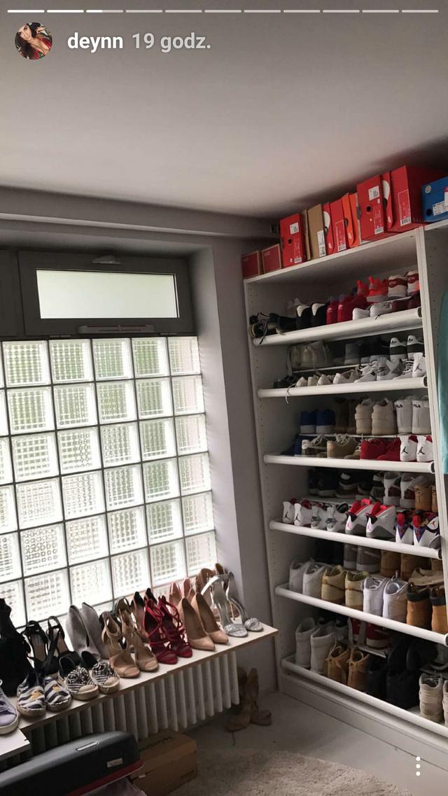OMG! Deynn może porównać swoją kolekcję butów z Khloe Kardashian?