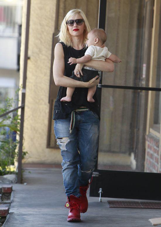 Gwen Stefani w boyfriendach