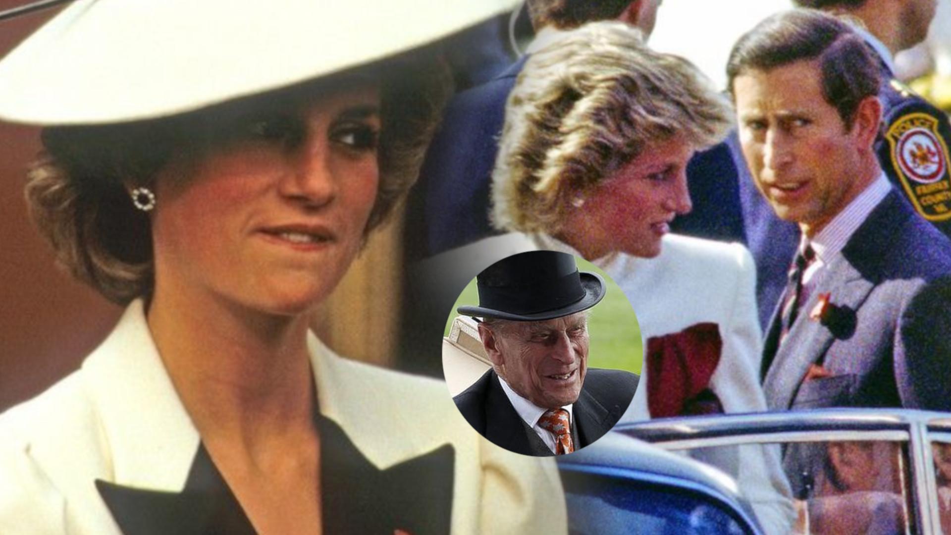 Wyciekł SZOKUJĄCY list księcia Filipa przesłany do księżnej Diany