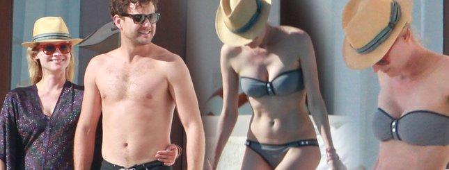 Diane Kruger i Joshua Jackson wygrzewają się w słońcu