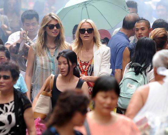 Kate Upton gra w filmie u boku Cameron Diaz (FOTO)