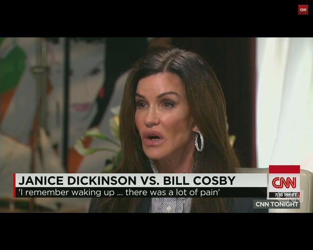 Dickinson: On jest �wini�, potworem, zgwa�ci� mnie!