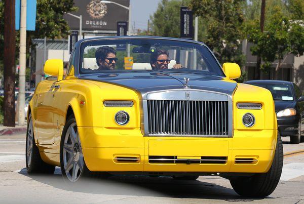 Scott Disick, czyli król lansu w żółtym Phantomie (FOTO)