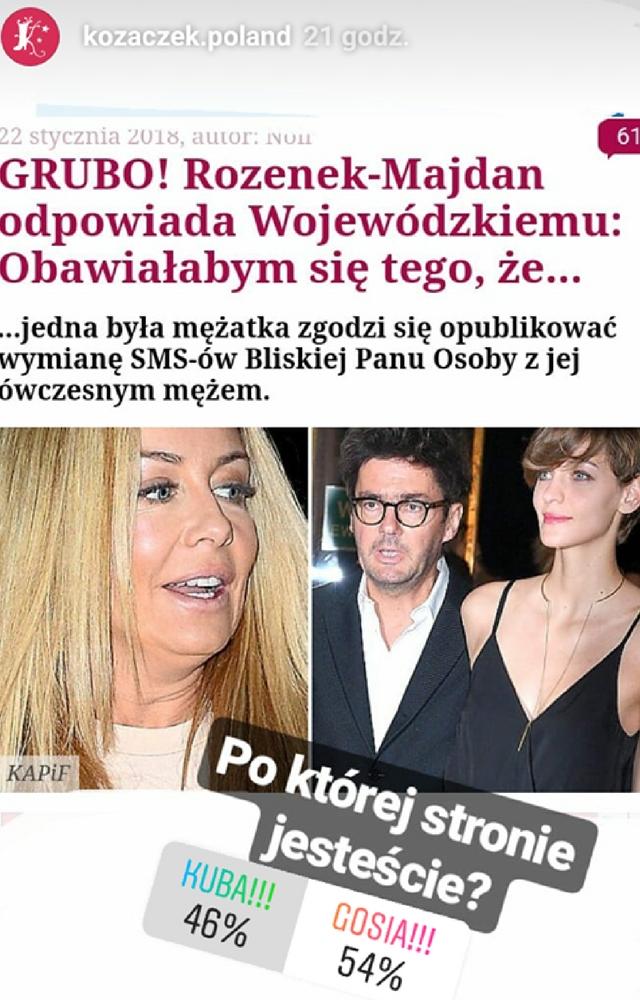 Wiemy KTO miał rację w tej całej aferze Rozenek vs Wojewódzki