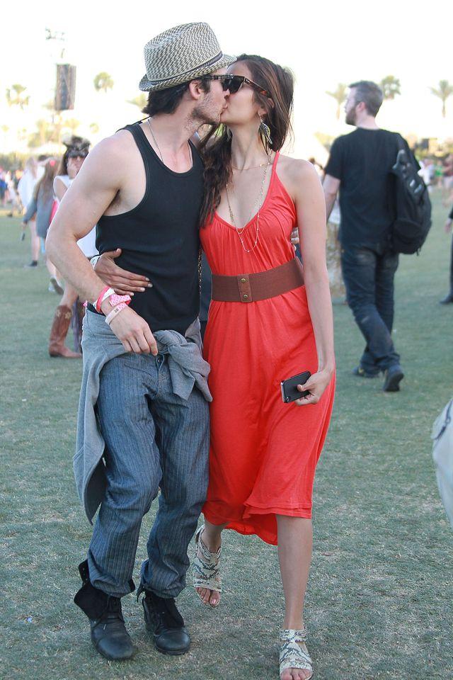 Nina Dobrev i Ian Somerhalder zn�w s� par�? (FOTO)
