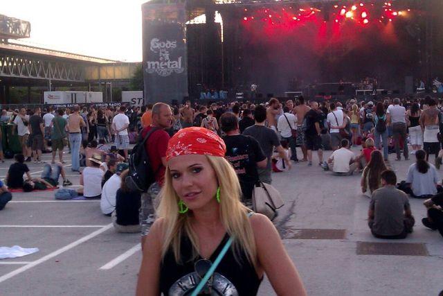 Doda szala�a na koncercie Guns'n'Roses (FOTO)