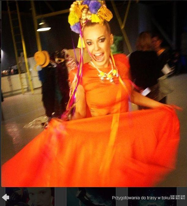 Doda pokazuje kostiumy na now� tras� (FOTO)