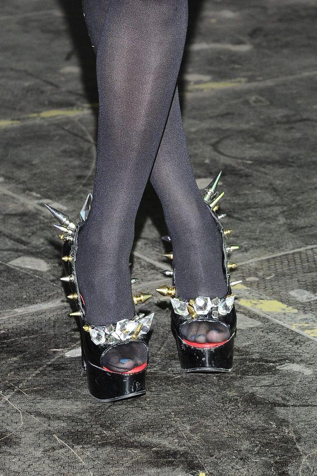 Ona lubi buty, które zwracają uwagę (FOTO)